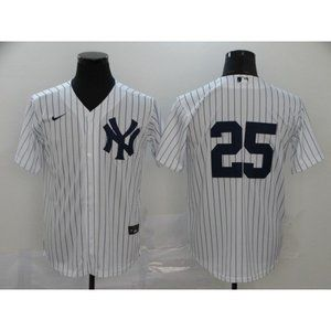 New York Yankees Gleyber Torres White Game  Jersey